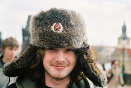Rob in an awesome hat