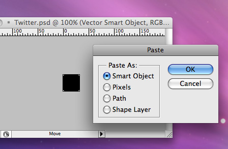 Get your base icon into Photoshop