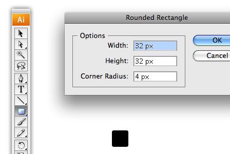 Create the basic icon shape