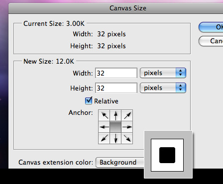 Get your icon base into Photoshop